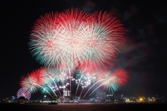 名古屋港Xmas冬花火