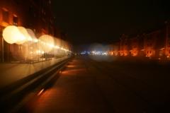 赤レンガの灯り