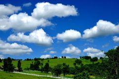 夏雲の行進