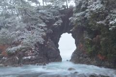 明鏡洞~積雪編