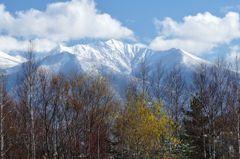 富良野からの十勝岳