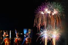 summer night fire festival 2013