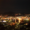 night view of Nagasaki