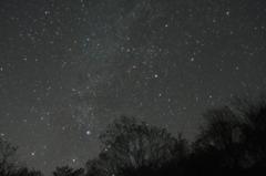 静寂の夜空