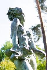 彫刻の小径にて8
