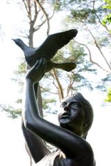 彫刻の小径にて7