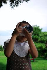 小学2年のカメラ女子