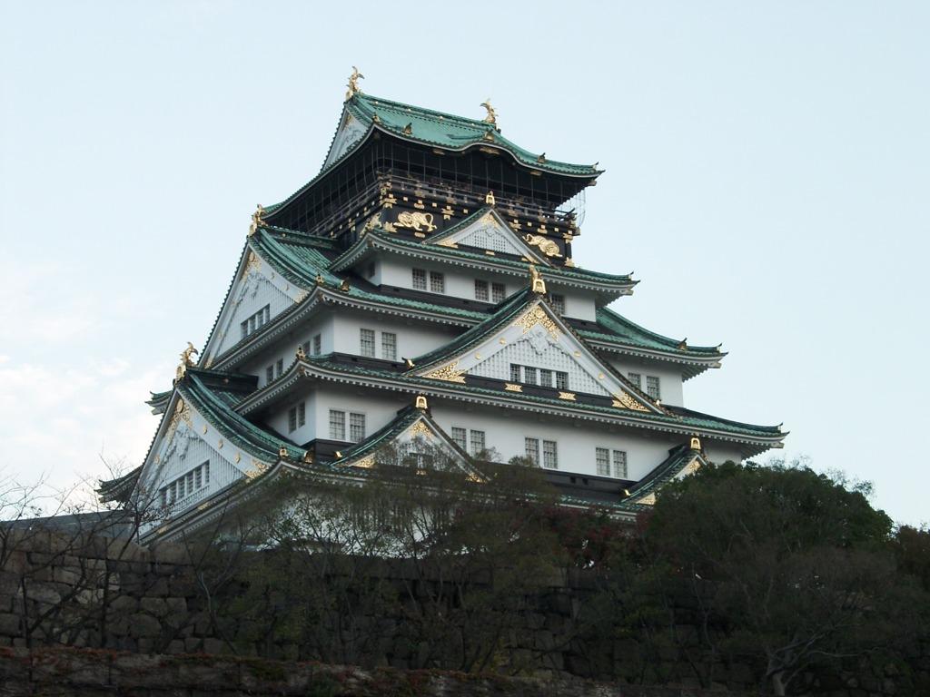 大阪城 昼