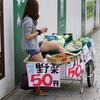 彼女は原宿で国産野菜を売ってる