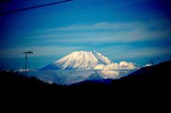 僕の町から見える富士
