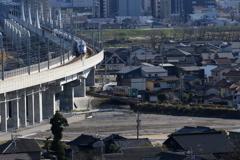新幹線と高山線