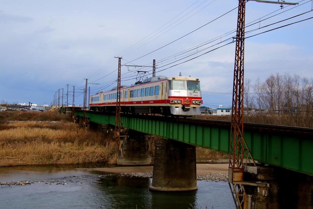アルペン号 鉄橋を渡る~♪