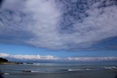 空と海の境界線