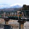 鉄橋を渡る・・・かぼちゃ君~♪