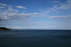 空も海も広いなぁ~!