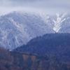 移り変わる山々