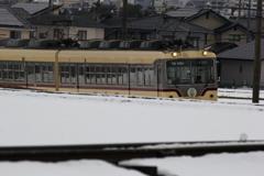 大雪で電車君が大変だぁ~