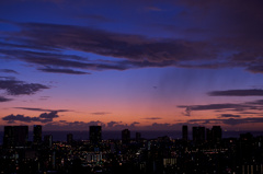 Sunset from Tantalus Hill