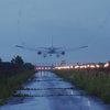 雨の日は空港へ