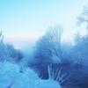 氷点下22度の朝