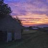 遠野の夕景-1