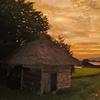 遠野の夕景-2