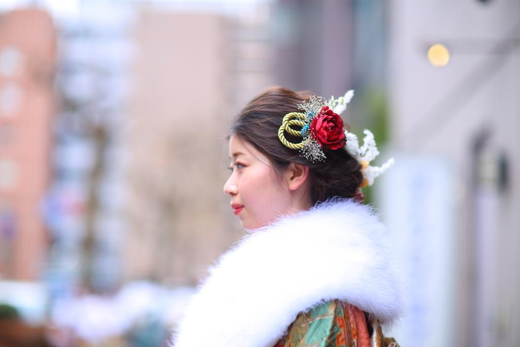 成人式 平安の姫君