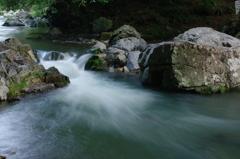 深緑の川辺 3