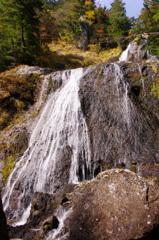 三本滝(右の滝)