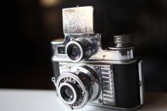 クラシックカメラF1.8接写