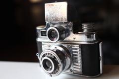 クラシックカメラF2.8接写
