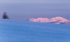 美瑛からの大雪山連峰