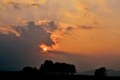 美瑛 夏雲の彩