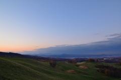 夜明けの高原