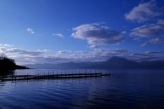 支笏湖の蒼