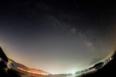 富士探訪Ⅰ-夜空に浮かぶ