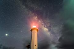 夜空を灯す