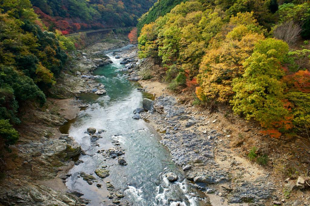京都保津峡