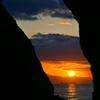 Sunset among the rocks☆