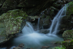 白倉峡の淵