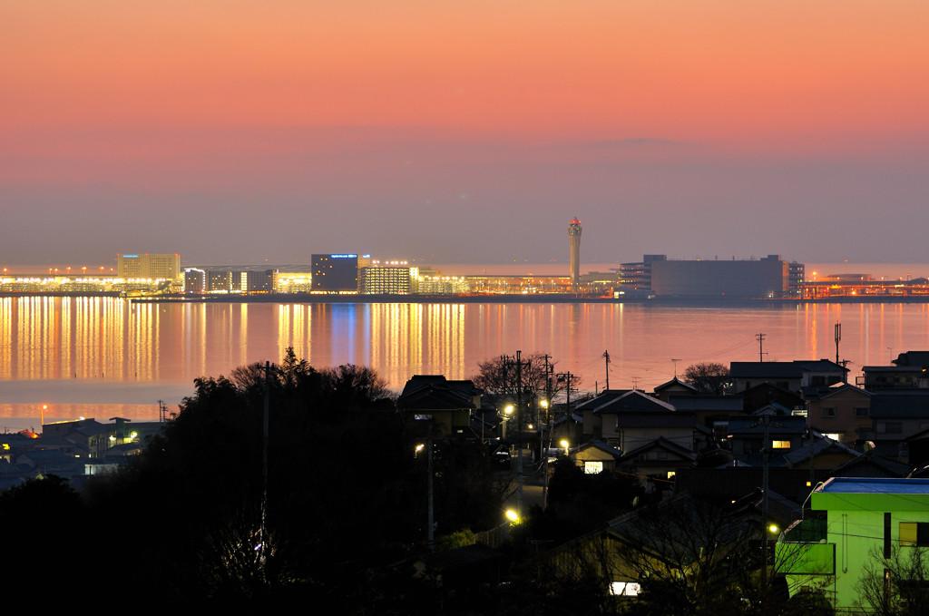 セントレア夜景