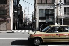 スカイツリーとタクシー