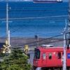 海と名鉄電車
