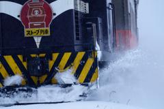 津軽の冬「ラッセル」