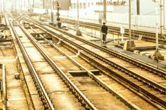 真昼の鉄路
