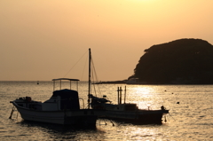 漁村の休日
