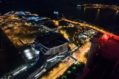 Osaka Nanko Night view #3