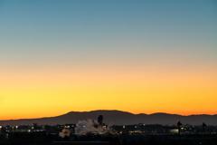 日の出前…2