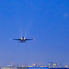 夜間飛行...2