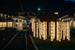 京友禅と嵐電